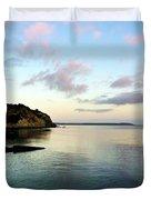 Charlestown Sunset East Duvet Cover