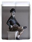 Charlie Chaplin Duvet Cover