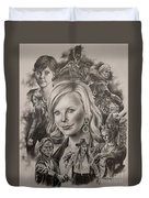 Charlize Theron  Duvet Cover