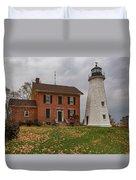 Charlotte-genesee Lighthouse Duvet Cover