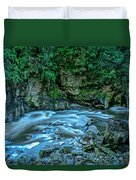 Charming Creek Walkway 1 Duvet Cover