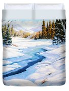Charming Winter Duvet Cover