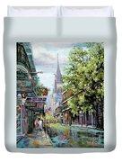 Chartres Rain Duvet Cover