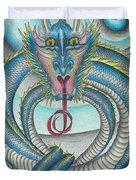 Chasing The Dragon Duvet Cover