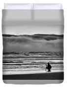 Chasing Tide And Light Duvet Cover