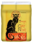 Chat Noir Duvet Cover