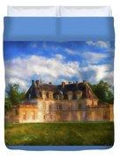 Chateau D'acquigny  Duvet Cover