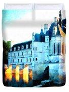 Chateau De Chenonceau Duvet Cover