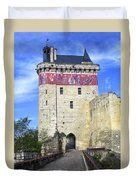Chateau De Chinon Duvet Cover