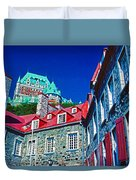 Chateau Frontenac Duvet Cover