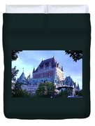Chateau Frontenac, Montreal Duvet Cover