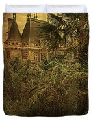 Chateau In The Jungle Duvet Cover