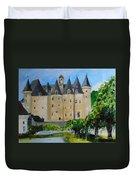 Chateau Jumilhac, France Duvet Cover
