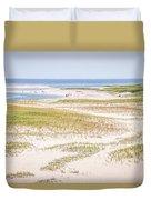 Chatham Lighthouse Beach Duvet Cover