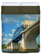 Chattanooga Bridge Duvet Cover
