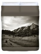 Chautauqua Night Path 2 Duvet Cover