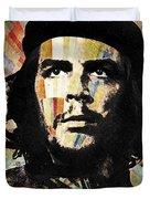 Che Guevara Revolution Gold Duvet Cover