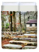 Cheaha State Park In The Fall Duvet Cover