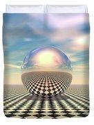 Checker Ball Duvet Cover