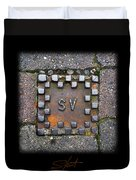Checker Sv Duvet Cover
