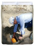 Checking Seismometer Duvet Cover