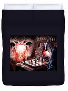 Checkmate Duvet Cover