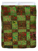 Checkoff Abstract Pattern Duvet Cover