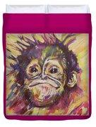 Cheeky Lil' Monkey Duvet Cover