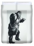 Cheela Captive Wild Woman Duvet Cover