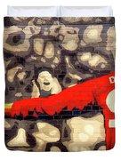 Cheer For Dusseldorf Duvet Cover