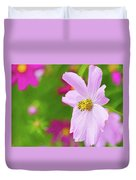 Cheerful Cosmos Duvet Cover