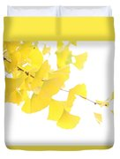 Cheery Ginkgo  Duvet Cover