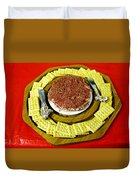 Cheese And Crackers Duvet Cover
