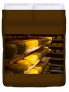 Cheese Factory Duvet Cover