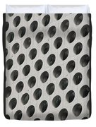Cheese Grater Builing Duvet Cover by Nancy Ingersoll