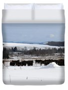 Cheese Makers With A View Duvet Cover