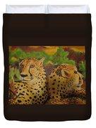 Cheetah 2 Duvet Cover