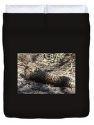 Cheetah Awakened Duvet Cover