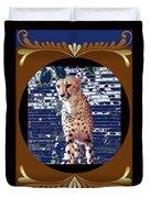 Cheetah Lean And Mean Duvet Cover