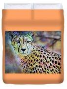 Cheetah Viii Duvet Cover