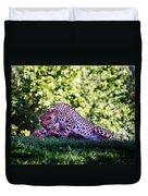 Cheetahs In Love Duvet Cover