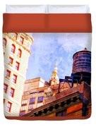 Chelsea Water Tower Duvet Cover