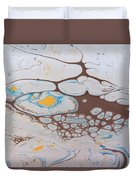 Chemical Reaction In Yo Mama Duvet Cover