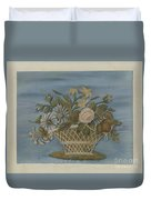 Chenille Embroidery Duvet Cover