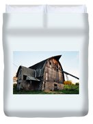 Chequamegon National Forest Barn Duvet Cover