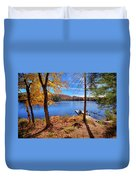 Cherished View Duvet Cover