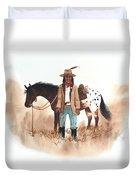 Cherokee Lighthorse Duvet Cover