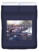 Cherokee Park Bridge Duvet Cover