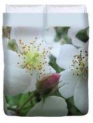 Cherokee Rose Dover Nh  Duvet Cover