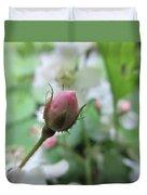 Cherokee Rose Of Dover Duvet Cover